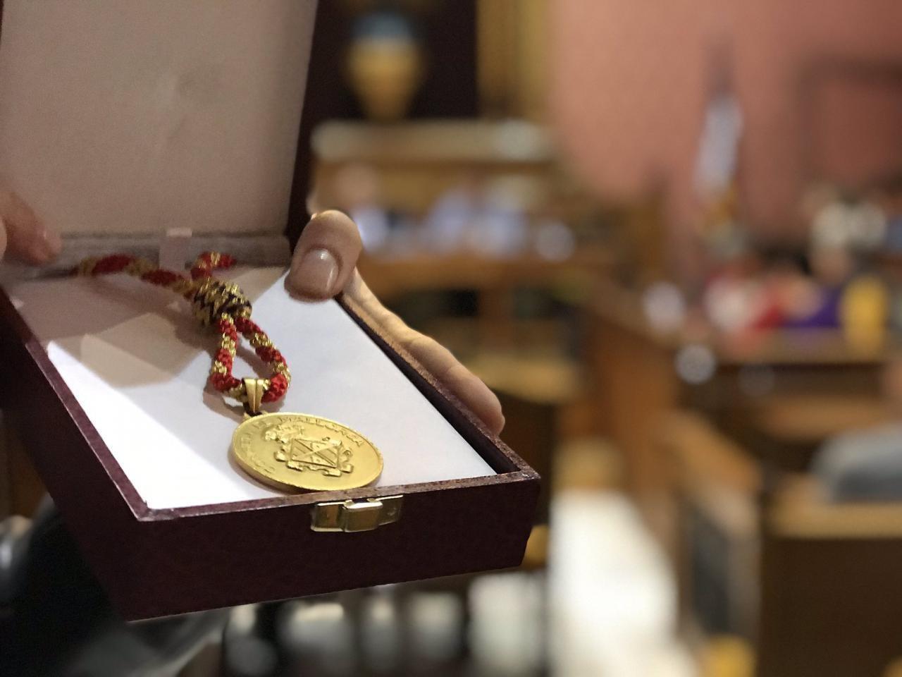 Medalla de honor y gratitud