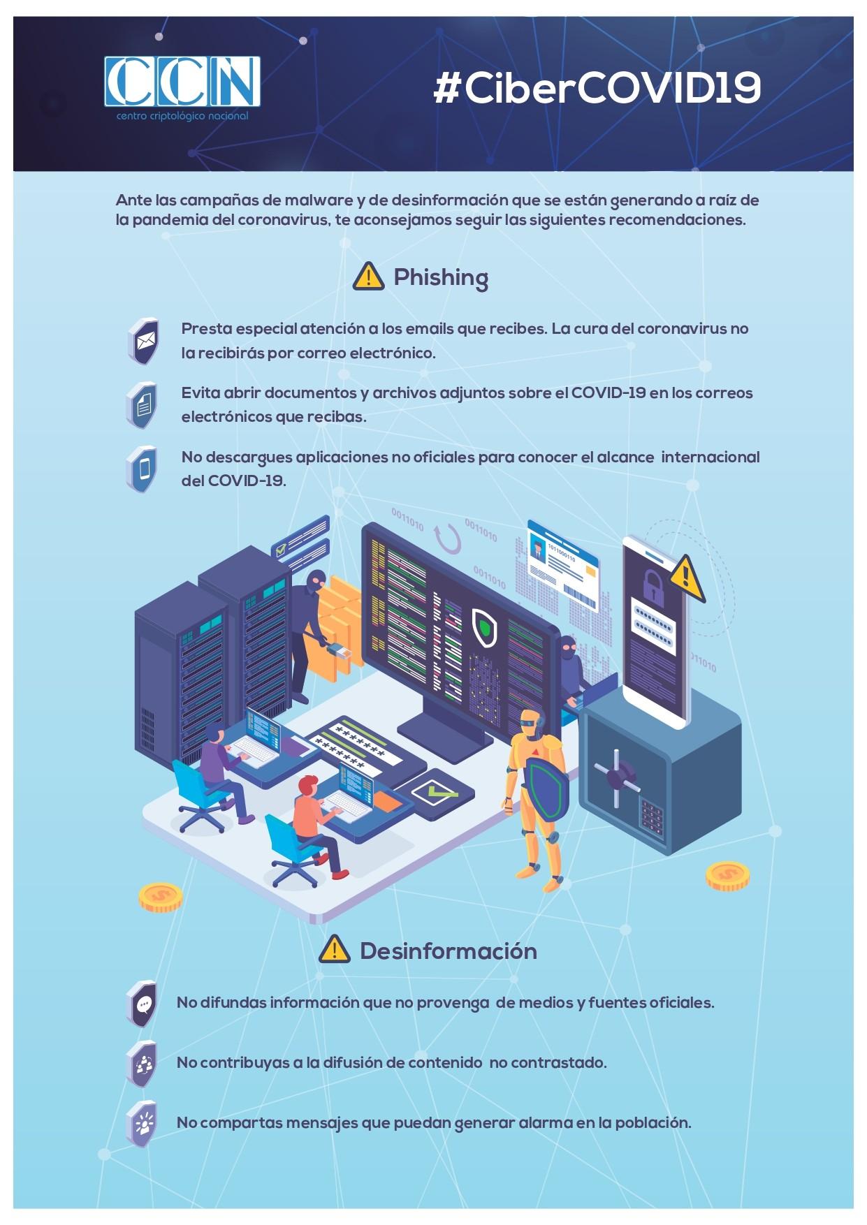 Repunte de las campañas de phishing relacionadas con la pandemia COVID-19