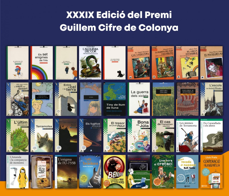 XXXIX Edició del Premi de Narrativa Infantil i Juvenil Guillem Cifre de Colonya - 2020