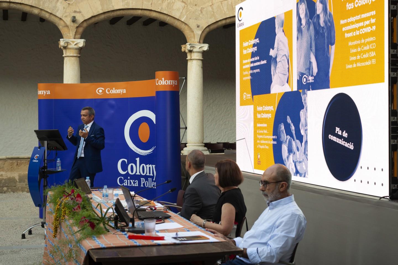Colonya, Caixa d'Estalvis de Pollença celebra l'Assemblea General Ordinària