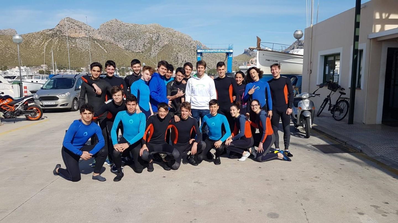 Sessió amb el piragüista olímpic Sete Benavides