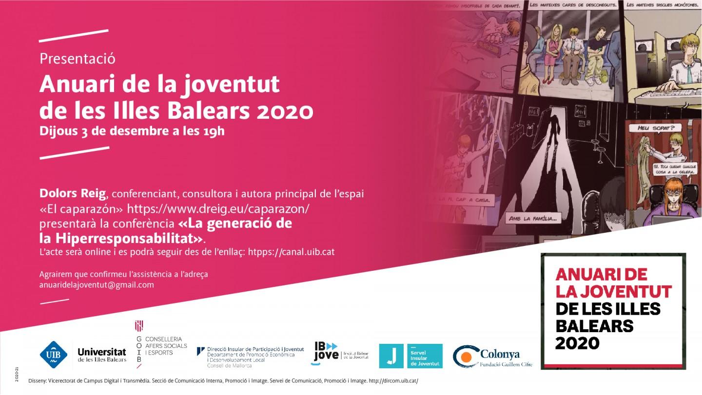 Presentació de l'Anuari de la joventut de les Illes Balears 2020