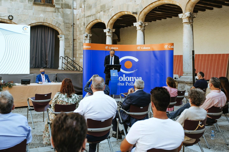Colonya, Caixa d'Estalvis de Pollença celebra las reuniones de la Asamblea General Ordinaria y Extraordinaria.