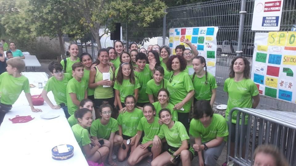 Colonya col·labora amb la cursa solidària de L'IES Guillem Cifre de Colonya