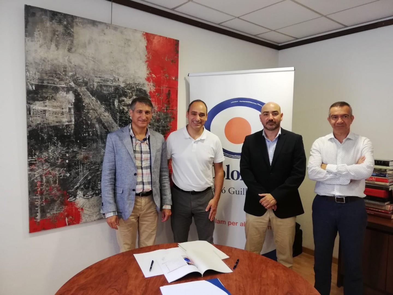 Colonya signa el conveni amb la Federació de Bàsquet de les Illes Balears