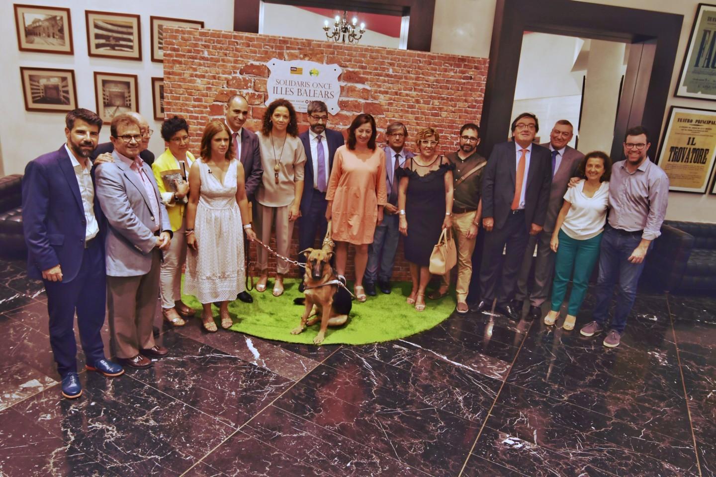 Colonya Caixa Pollença recibe el Premi Solidari ONCE Illes Balears 2019