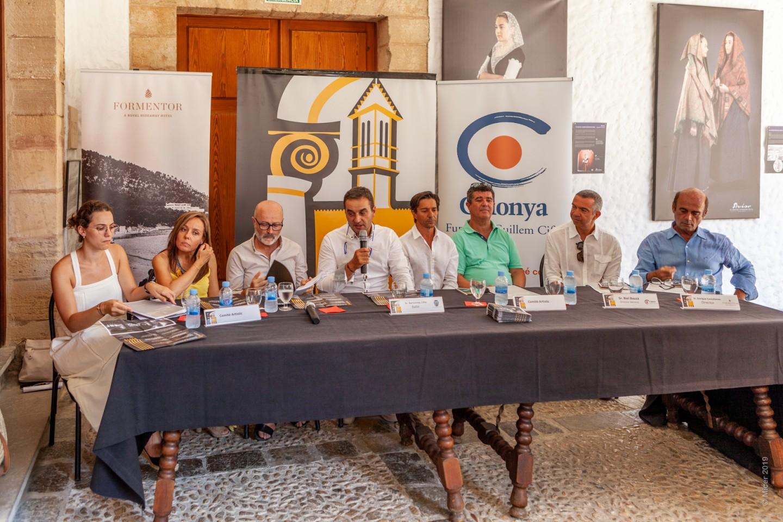 Roda de premsa de la presentació del 58è Festival de Pollença