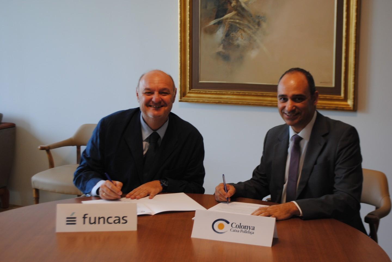 Colonya signa el conveni de col·laboració amb Funcas per l'estímul de l'Educació Financera