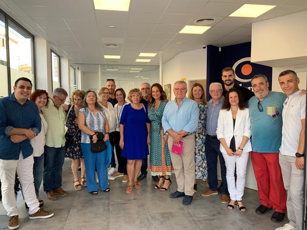 Jornada de puertas abiertas en la nueva oficina de Colonya de Alcudia