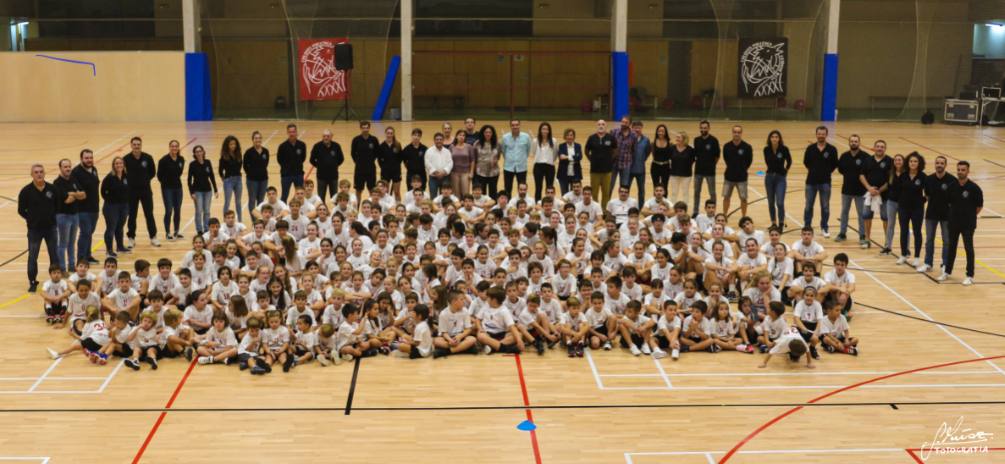 Presentació de la temporada 2019-2020 del Club de Bàsquet Colonya Pollença