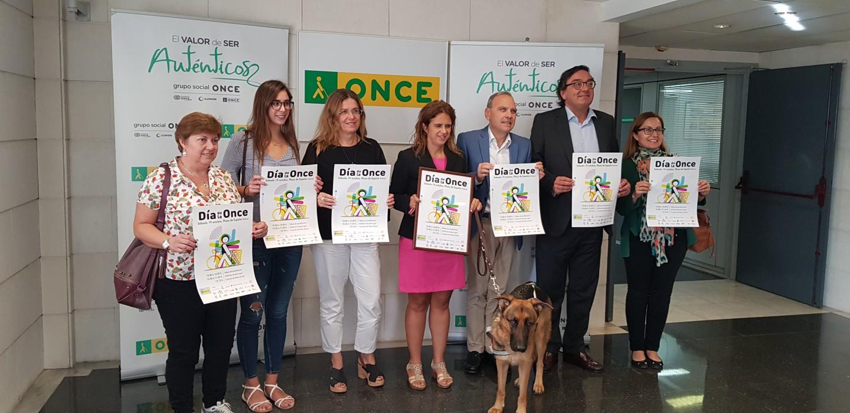 Presentació a Palma del Dia de l'ONCE