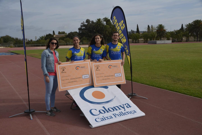 La Fundació Guillem Cifre de Colonya col·labora amb el Club Atletisme Manacor