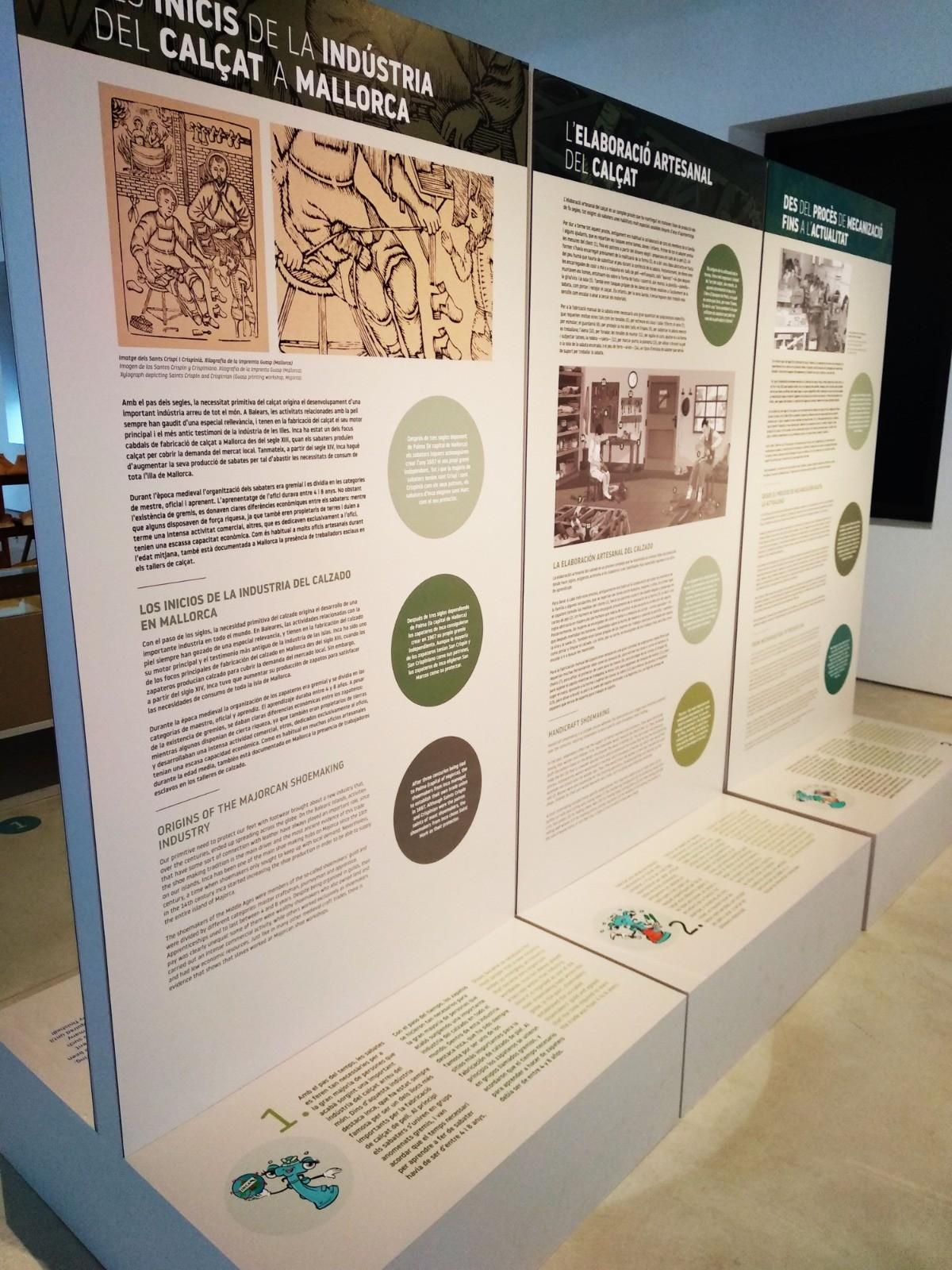 Inauguració de l'espai educatiu del Museu del Calçat i de la Indústria d'Inca