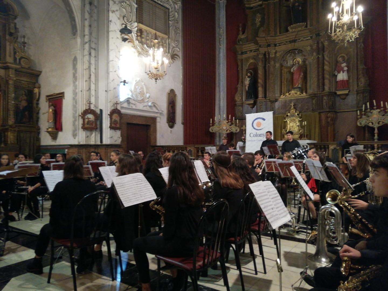 Concert de la Fira de la Banda de Música de Pollença, patrocinat per Colonya