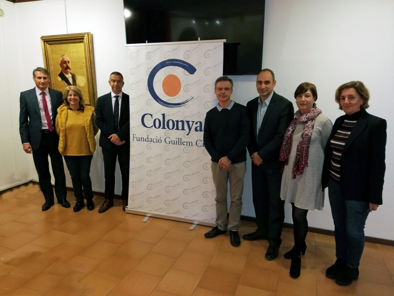Colonya renova el conveni de col·laboració amb els instituts Guillem Cifre de Colona i Clara Hammerl