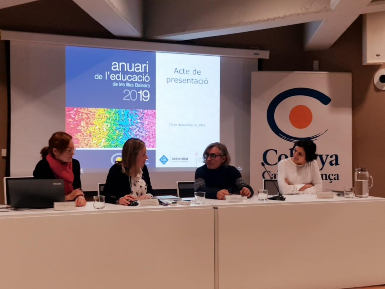 Presentació de l'Anuari de l'Educació de les Illes Balears 2019 a Eivissa