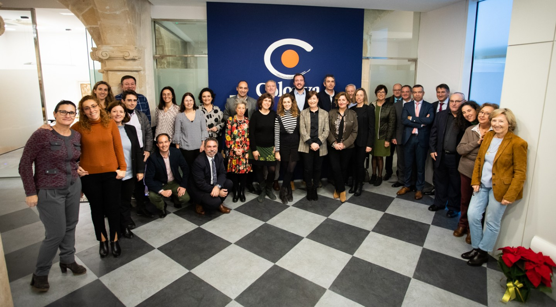 Colonya Caixa d'Estalvis de Pollença obri una nova oficina al centre neuràlgic de Palma.
