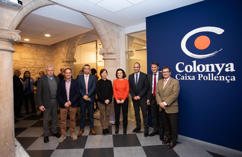 Colonya inaugura la nova oficina de l'Entitat a Palma, al carrer Conquistador nº 5.