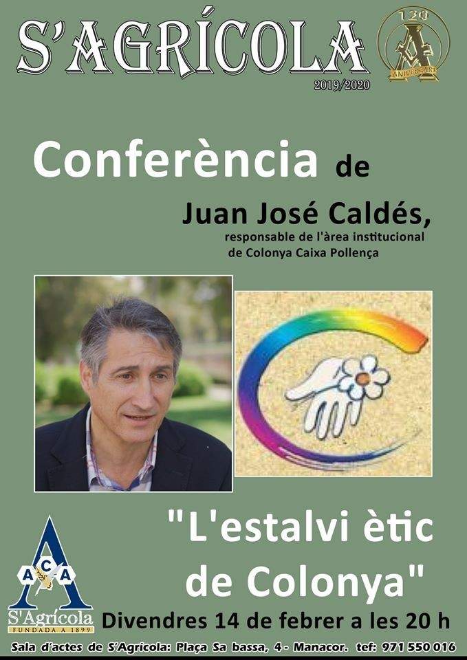 Conferència de Juan José Caldés, responsable de Relacions Institucionals i Estalvi Ètic de Colonya